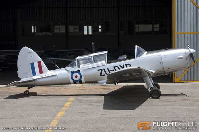 De Havilland DHC-1 Chipmunk ZU-DXP Rand Airport FAGM