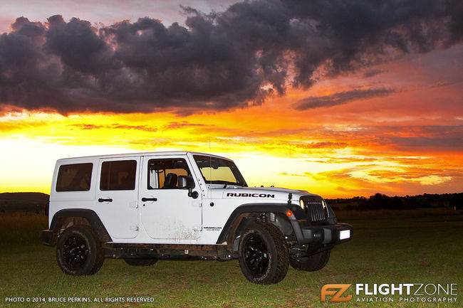 Jeep Wrangler Rubicon at Panorama Airfield
