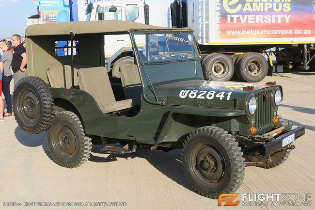 Willys CJ2A Jeep Wonderboom Airport FAWB