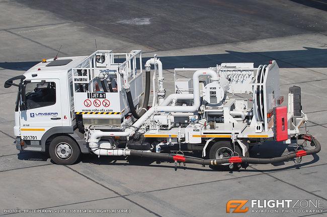 Fuel Pump Truck Lanseria Airport FALA
