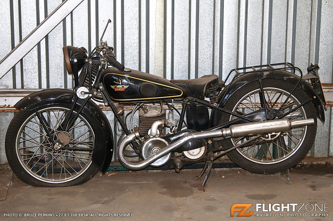 The Famous James Motorcycle Rand Airport FAGM