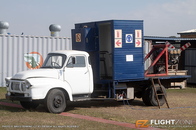 Engine Test Bed Vehicle Rand Airport FAGM
