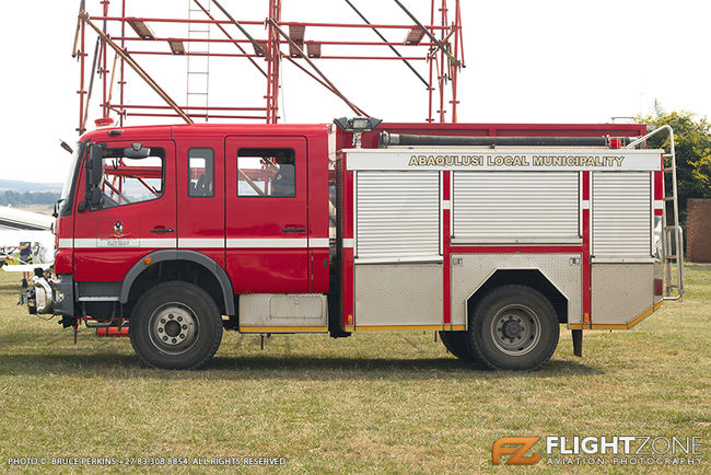 Fire Truck at Vryheid Airfield FAVY