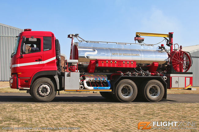 Fire Truck Springs Airfield FASI