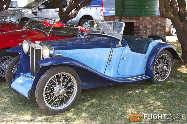1937 MG PA Car Petit Airfield FARA