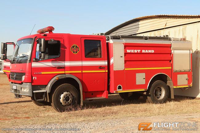Fire Truck Krugersdorp Airfield FAKR
