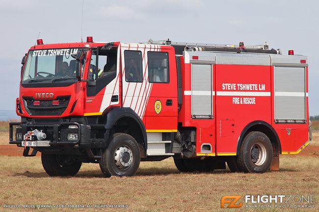 Fire Truck at Middelburg Airfield FAMB
