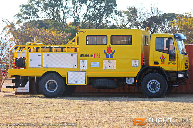 Fire Truck Nylstroom Airfield FANY