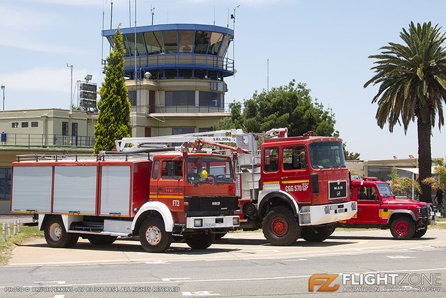 Fire Truck at Rand Airport FAGM