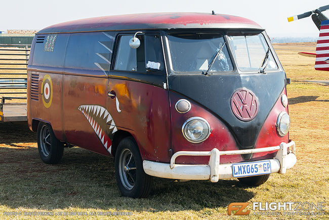 Volkswagen VW Split Window Kombi Krugersdorp Airfield FAKR