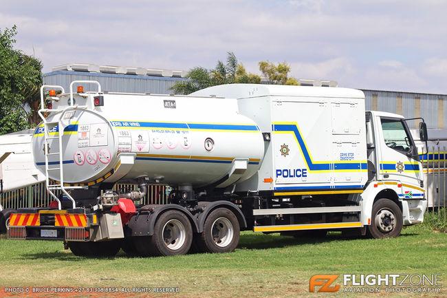 SA Police Air Wing Fuel Tanker / Command Truck Wonderboom Airport FAWB