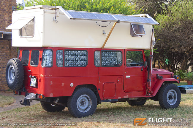 Toyota Landcruiser Motor Home Brits Airfield FABS