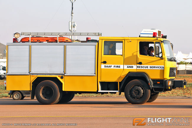 SAAF Fire Truck Waterkloof Air Force Base FAWK