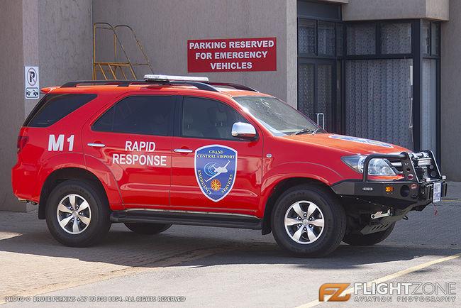 Fire Truck Grand Central Airport FAGC