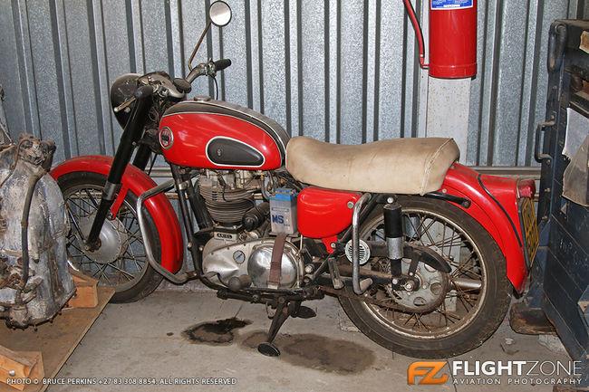 Aerial Motorbike Rand Airport FAGM Bike