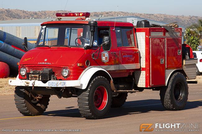 Unimog Fire Truck Wonderboom Airport FAWB