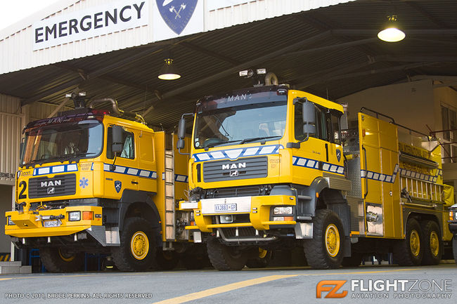 Fire Engine Tender Lanseria Airport Emergency Vehicles