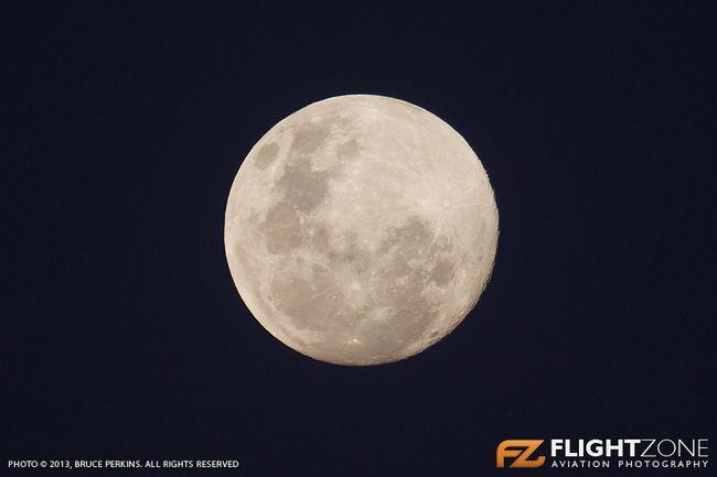 Moon Johannesburg South Africa 22 June 2013
