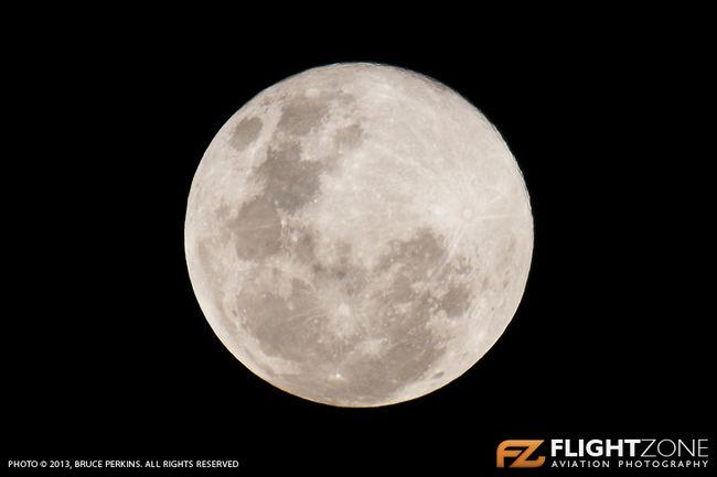 Moon 23 June 2013 Johannesburg South Africa