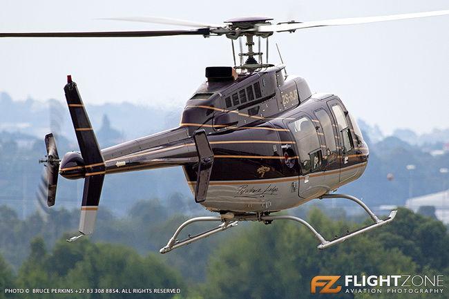Bell 407 ZS-RJR Rand Airport FAGM