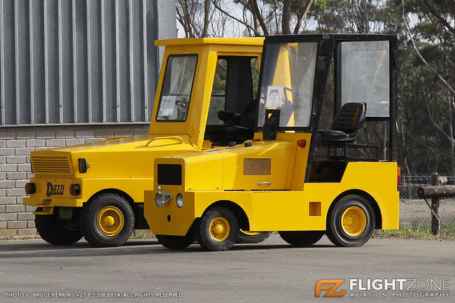 Tow Tractor East London Airport FAEL