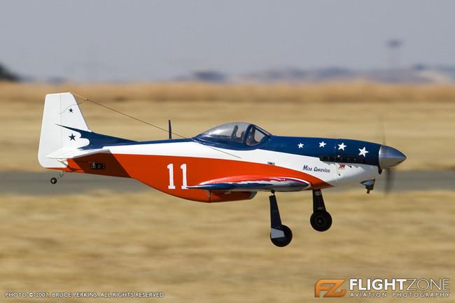 P-51 Mustang RC Model FASK