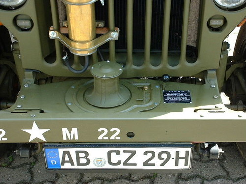 capstan winch - G503 Military Vehicle Message Forums
