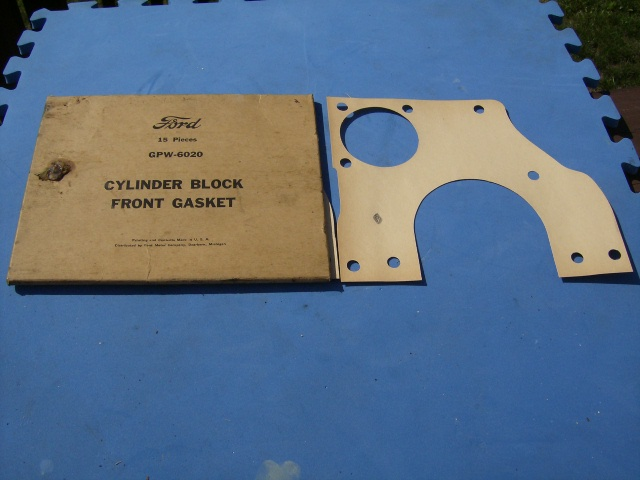 MB GPW Front Cylinder Block Gaskets