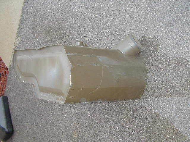 M38A1 Gas Tank Front View
