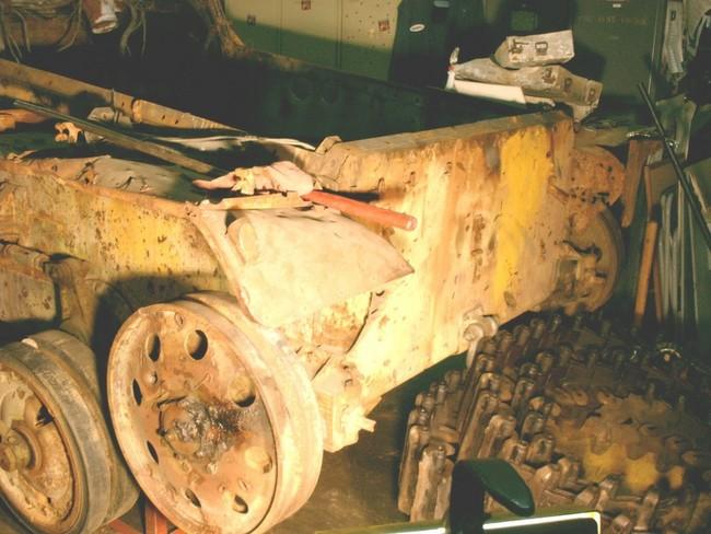 Oregon Military Museum's WWII Type 95 Japanese Tank restoration