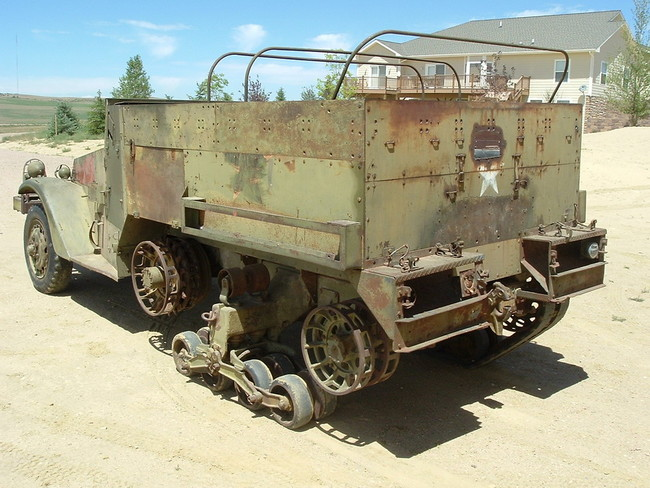 Mighty Tight White M2A1 Halftrack For Sale - G503 Military